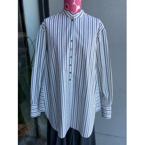URVIN*アービン アンティークライクシャツ GS530301 WST ホワイトストライプ|magic-u-ladys