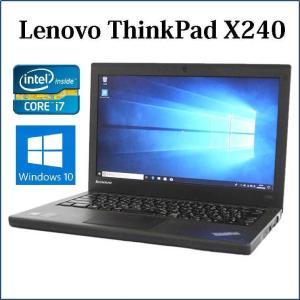 第4世代プロセッサー搭載!  レノボ シンクパッド X240 ■寸法 305.5×208.5×20....