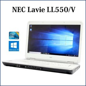 スパークリングホワイトモデル!  NEC ラヴィ L LL550/VG6W PC-LL550VG6W...