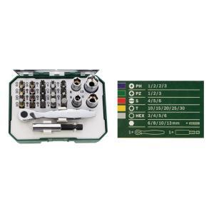 BOSCH (ボッシュ) 2607017322 ラチェット スクリュードライバービット セット 26ピース|magicdoor