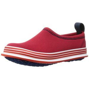 [スキッポン] 子ども 靴 ラッキープレーン(レッド) SKP-0041RD-13 (ソール 白) 13cm|magicdoor