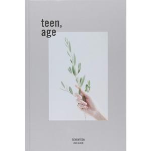 Seventeen 2集 - TEEN, AGE (ランダムバージョン) CD, インポート|magicdoor