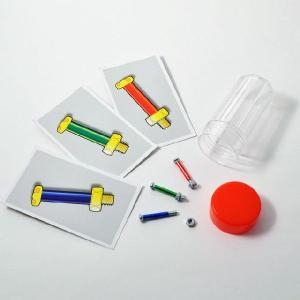 I2601 3色ボルトのミステリー マジック・手品|magicexpress