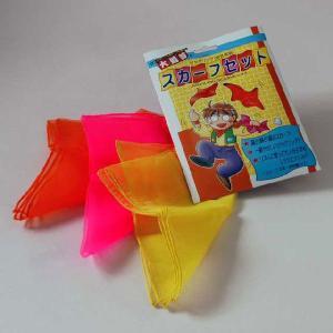 J1121 スカーフセット ジャグリング・大道芸|magicexpress