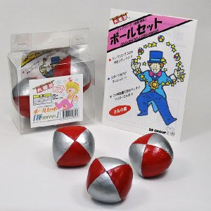 J1142 ボールセット「輝(かがやき)」 ジャグリング・大道芸|magicexpress