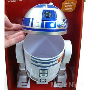 スターウォーズ R2-D2 トーキングおやつ入れ 小物入れ グッズ|magicnight