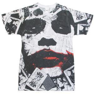 バットマン・ダークナイトの登場のジョーカーの両面印刷Tシャツが新発売。期待に反し、プリントや素材に問...