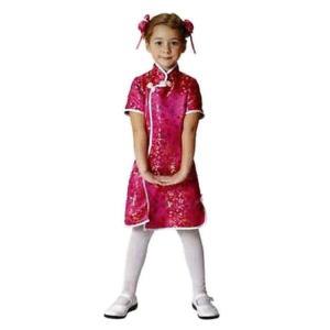 チャイニーワンピース チャイナ服 チャイナドレス 子供用 衣装 コスチューム