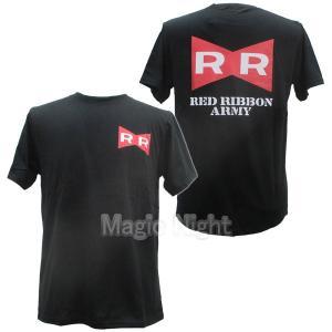ドラゴンボール Tシャツ レッドリボン軍 ブラック magicnight