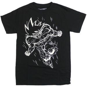悟空 ホワイトライン USA版ドラゴンボールZ Tシャツ|magicnight