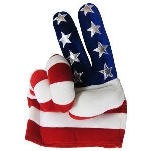 USAピースハンドハット 星条旗柄アメリカンハット|magicnight