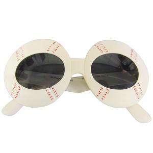 ベースボールサングラス おもしろ眼鏡 パーティメガネ magicnight