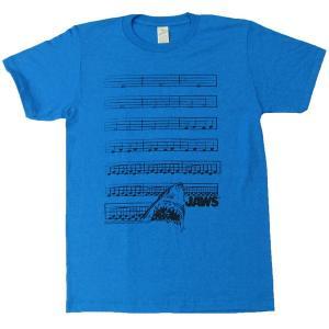ジョーズ Dun Nuh(テーマメロディ楽譜) Jaws Tシャツ|magicnight