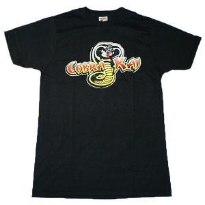 カラテキッド コブラ会 COBRA KAI Tシャツ 映画 The Karate Kid 邦題 ベストキッド