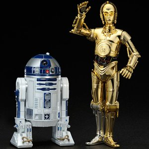 スターウォーズ フィギュア R2-D2 & C-3PO プラモデル・グッズ
