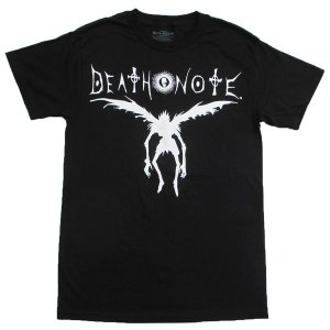 デスノート Death Note Tシャツ リューク シルエット|magicnight