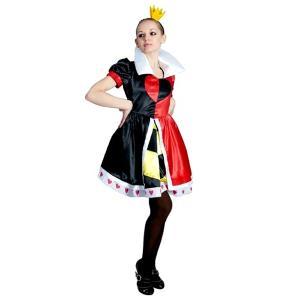 クイーンオブハート コスチューム 大人用 ハートの女王 衣装|magicnight