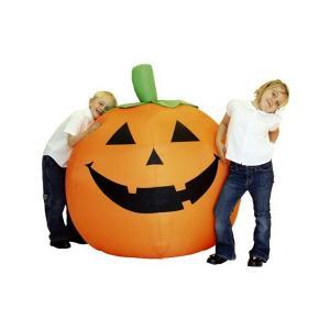 ブローアップビッグパンプキン Blow Up Big Pumpkin ハロウィン 飾り 置物|magicnight