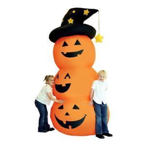 ブローアップパンプキントリオ Blow Up Pumpkin Trio ハロウィン 飾り 置物|magicnight