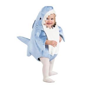 サメ 着ぐるみ衣装 Shark ハロウィン コスチューム 身長〜80cmまで 1-2歳用 magicnight