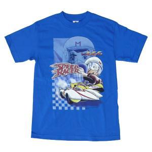 スピードレーサー In Action アニメ マッハ Go Go Go Tシャツ