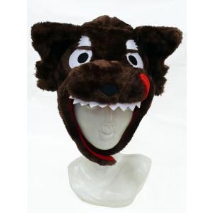 オオカミ 着ぐるみキャップ かぶりもの 動物 帽子 magicnight