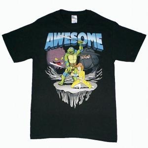 タートルズTシャツ Awesome|magicnight