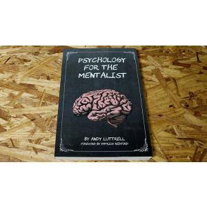 手品 マジック 書籍 Psychology for the Mentalist by Andy Luttrell|magicu