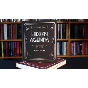 手品 マジック 書籍 Hidden Agenda (Hardbound) by Roberto Giobbi|magicu