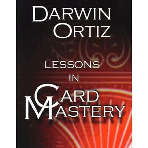 手品 マジック 書籍 Lessons in Card Mastery by Darwin Ortiz|magicu