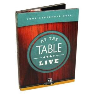 At the Table Live Lecture September 2014|magicu