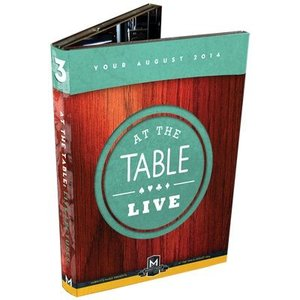 At the Table Live Lecture August 2014 (4 DVD set)|magicu