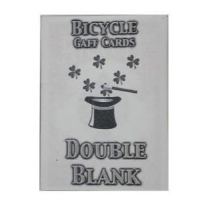 ダブルブランクカード|magicu
