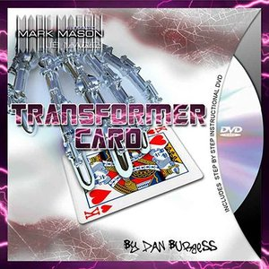 手品 マジック Transformer Card by Mark Mason and JB Magic|magicu