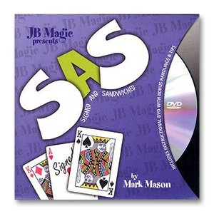 手品 マジック SAS (Signed And SandWiched) by Mark Mason and JB Magic|magicu