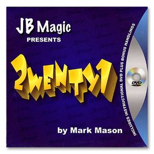 手品 マジック 2wenty1 (21) by Mark Mason and JB Magic|magicu