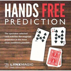 手品 マジック Hands Free Prediction (Blue) by Lynx Magic|magicu