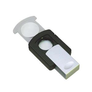 スライド式ライトルーペ 2.5倍&3倍 RM-329P|magochi