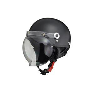 リード工業  CROSS ハーフヘルメット ハーフマットブラック フリーサイズ CR-760|magochi