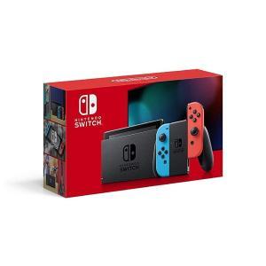 【新品送料無料】Nintendo Switch 本体 (ニンテンドースイッチ)ネオンブルー・ネオンレ...