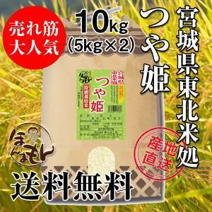 お米 10kg(5kg×2) 宮城県産つや姫 令和2年産[新米入荷] 送料無料 NO.1の食味