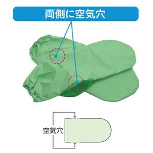床ずれ対策 リフレ 圧抜き グローブ 手ムレ防止タイプ 1双(2枚)入|magokoro-s