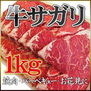 牛サガリ(アメリカ産) 1kg業務用 さがり 焼肉 BBQ やわらかジューシー