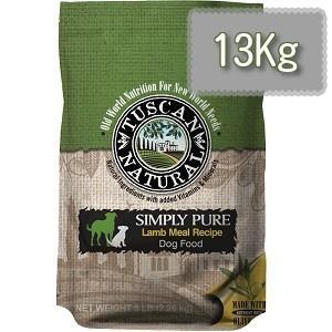 TUSCAN NATURAL (タスキャン ナチュラル)シンプリーピュア ラムレシピ ドッグフード 13kg|magpet