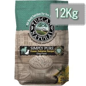 TUSCAN NATURAL (タスキャン ナチュラル)シンプリーピュア フィッシュレシピ ドッグフード 12kg|magpet