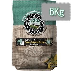 TUSCAN NATURAL (タスキャン ナチュラル)シンプリーピュア フィッシュレシピ ドッグフード 6kg|magpet