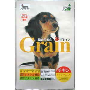 (株)アニマル・ワン Grain チキン 200g|magpet