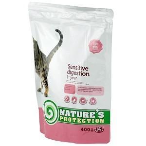 ネイチャーズプロテクション センシティブ 胃腸が敏感な成猫用1歳以上 400g  Nature's Protection|magpet