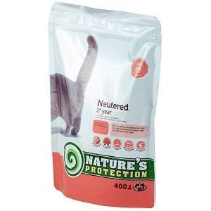 ネイチャーズプロテクション 避妊・去勢猫用1歳以上 400g   Nature's Protection|magpet
