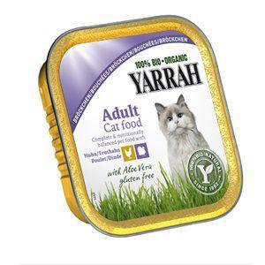 YARRAH(ヤラー) チキンとターキーのキャットチャンク 100g|magpet